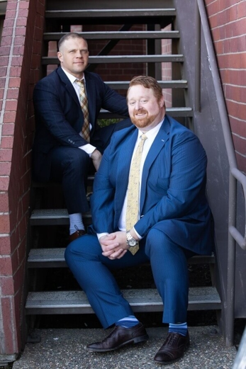 Attorney Charles Caraway and Attorney Daniel Del Rio